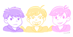 Youngest three by LeAwesomeAlice