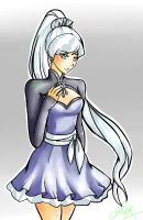 Weiss-RWBY Volume 4 Fanart by daninja293