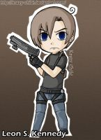 Leon Kennedy - Wind Waker by Krazy-Chibi