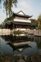 Chinese garden Stock 40 by Malleni-Stock