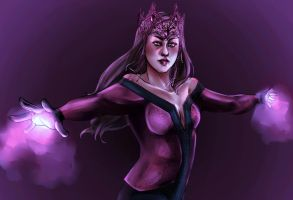 Scarlet Witch 2016 by spinningandslashing