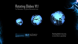 Rotating Globes V1.1 by g3xter