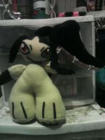 Mawile plushie by PhoenixxBlade