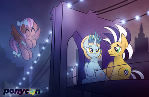 I Never Sleep, when I'm with You by drawponies