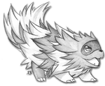 Zigzagoon sketch 2 by foreverbluejeans