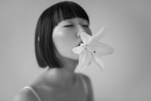 White Lily by elle-cannelle