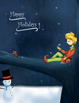 Holiday Card Project 2015 by Snowinette