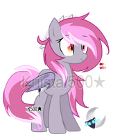 .::Bat Pony Adoptable Auction CLOSED::. by KrystalChaser