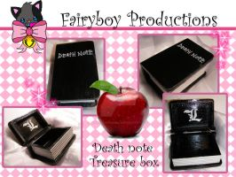 Death note treasure box by LunarFoxDesigns