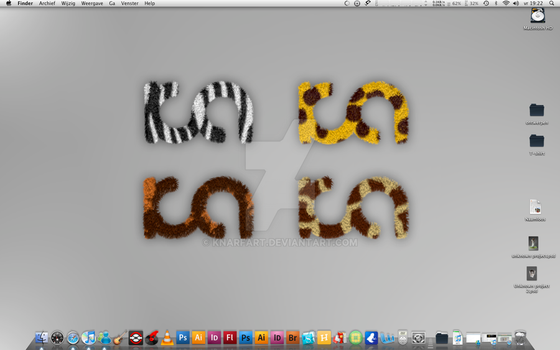 My new desktop by Knarfart