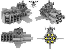 Original Imperial Cruiser wip1 by Mallacore