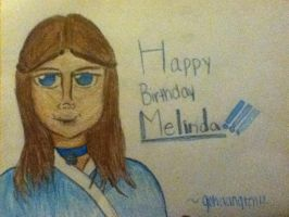 Happy Birthday Melinda! by gohaangten12