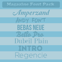 Mag Fonts by allyresources