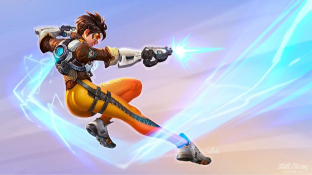 Tracer Wallpaper by codyrhodes20012001