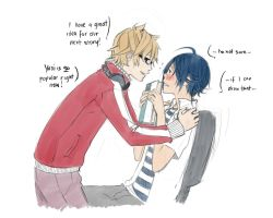 Bakuman Yaoi by kitten-chan