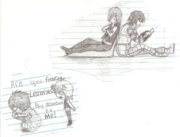 Matt and Mello Little sketchy thingys by Ravenpaw1919