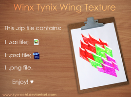 Tynix Wing Texture by Kyo-Cchi