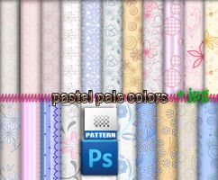 Pastel Colors Patterns by roula33