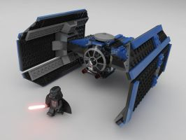 Lego TIE Advanced x1 by MrElusive777