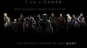 Gamer Quote by bluerevy