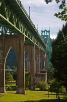 St. Johns Bridge by Thundercatt99