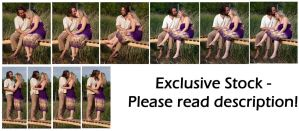 -EXCLUSIVE- Lovebirds by syccas-stock
