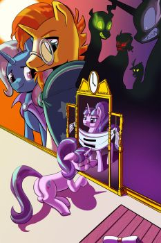 Facing the Pony in the Mirror by Princrim