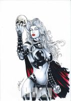 Lady Death by HM1art