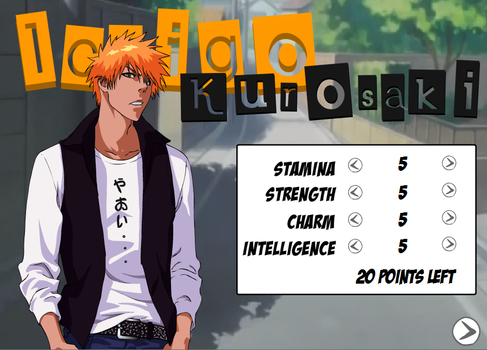 BDS Preview: Ichigo Stat Page by FreakinMi