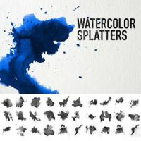 watercolor brushes by PhazeN1