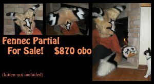 Fennec Partial for sale. by keeatah