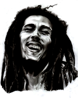 Bob Marley by StoneTheCrow87