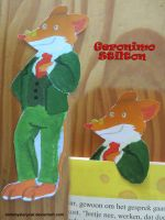 Geronimo Stilton Bookmark by DarkMysteryCat