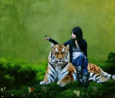 Tiger and me by M-Twins