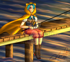 Art Trade: At the Bay... by MariaDiAvvenire