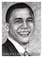 President Obama by xnicoley