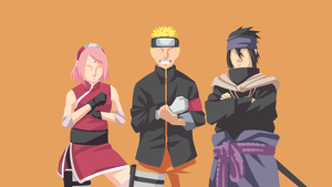 Naruto Team 7 Minimalist by Akihdna