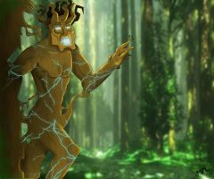 Emperor of the Forest by MitchvM