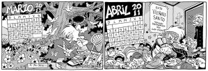 Calendario 2011 Marzo-Abril by POLO-JASSO