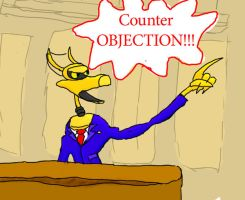 Counter Objection by frillythingy