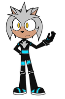 Silver the Hedgehog (Request) by JamesTechno998