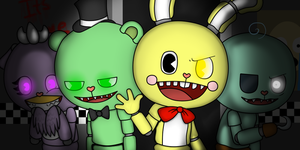 Five Night's at Flippy's by SilverAshes109