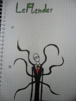 Slenderman: LeFloid hates me! by Kecks832