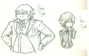 Doodles of the Day! [Dangan Ronpa] by Keikuina