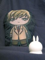 Yagami Light Pillow Plush by zelas