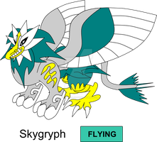 Griffon Legendary Fakemon by KingsTailor