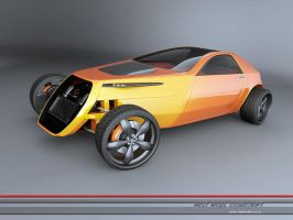 hotrod concept -4 by 3dmanipulasi