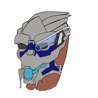 Disgusted Garrus by Plantress