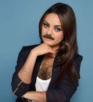 Mila kunis has a new look by dialandis