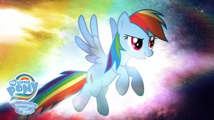 Rainbow Dash is Best Pony HD Wallpaper by Jackardy